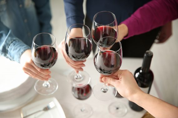 How Drinking Wine and Eating Chocolate Can Heal Your Gut