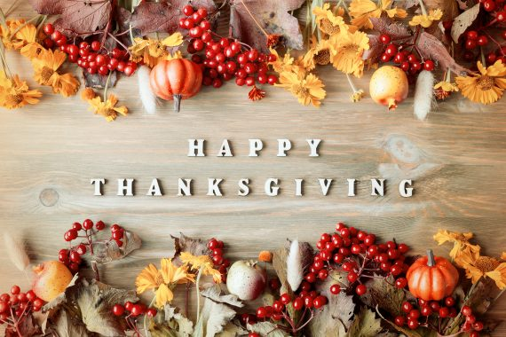 Some Tips and Ideas for a Healthy Thanksgiving Holiday